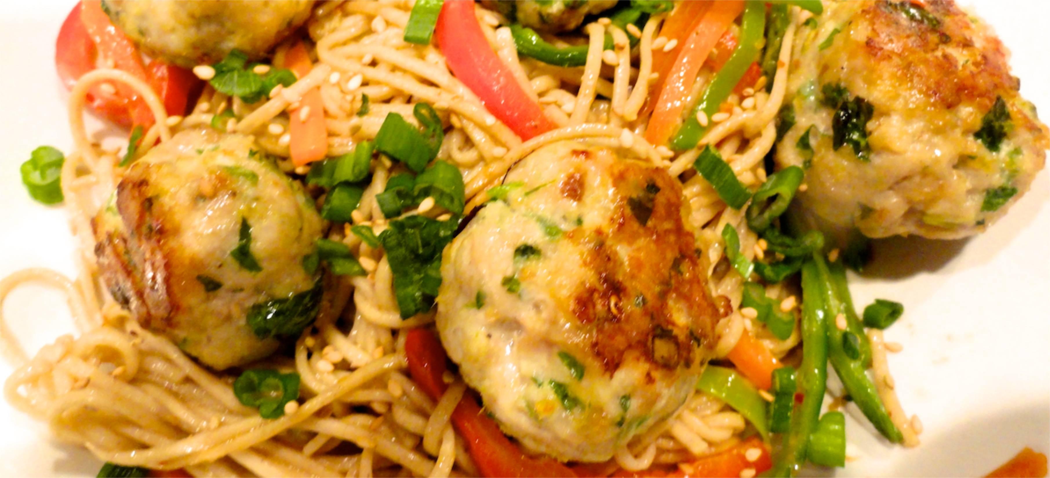 Asian Meatballs With Peanut Sauce Recipes — Dishmaps