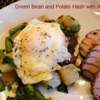 Green Bean and Potato Hash with Arugula