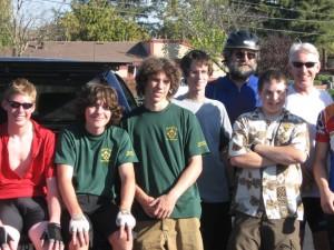 Trevor Boy Scouts
