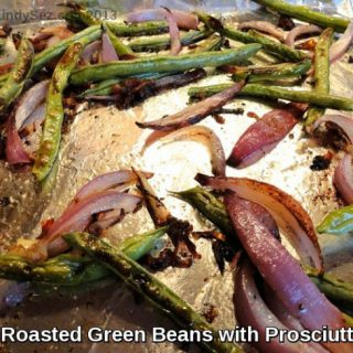 Roasted Green Beans with Prosciutto