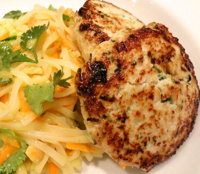 thai style chicken patties