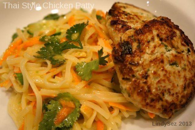 Thai Style Chicken Patty