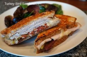 Turkey Bird Sandwich
