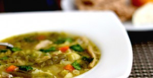 leftovers turkey soup