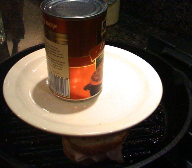 homemade panini press