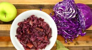 German Style Sweet Sour Red Cabbage header shot