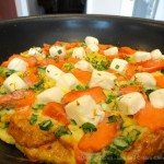 Lox and Cream Cheese Frittata