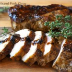 Balsamic Glazed Pork Chop
