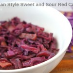 German Style Sweet and Sour Red Cabbage