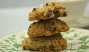 Double Delights Chocolate Chips Fruit Cookies