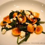 Orecchiette with Spinach and Feta
