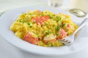 Risotto Milanese with Extra Extras