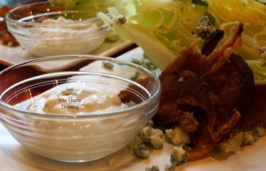 Quick Low-Fat Blue Cheese Dressing