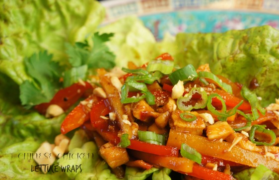 Chinese Chicken lettuce wrap