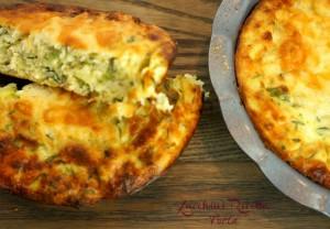 Zucchini Ricotta Torta