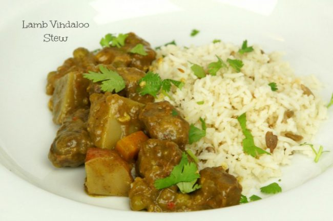 Lamb Vindaloo Stew