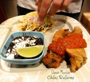 Classic Mexican Chile Rellenos