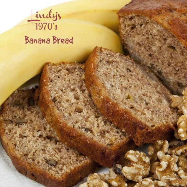 Lindy's 1970's Banana Bread