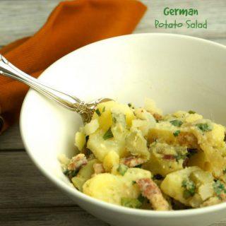 Old Fashion German Potato Salad 1