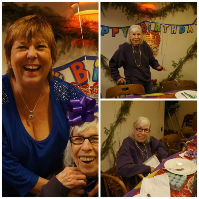 LindySez and her mom celebrate 90 years