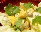 Papaya Butter-Leaf Salad with Creamy Lime Dressing
