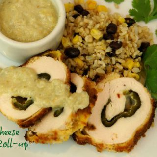 Chile Cheese Chicken Roll-up