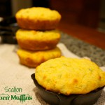Scallion Corn Muffins