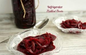 Refrigerator Pickled Beets
