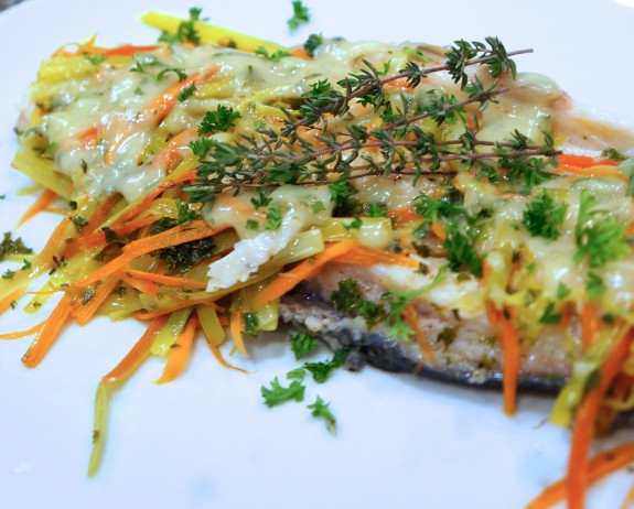 Riesling poached trout lindysez recipes for Poaching fish in wine