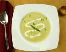 chilled asparagus soup h