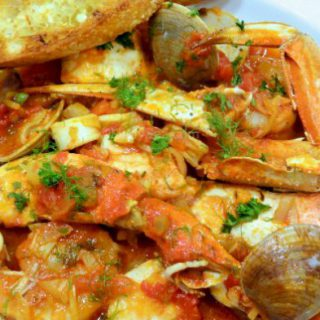 cioppino in a bowl