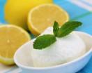 Limoncello-Mint Sorbet
