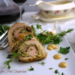 Herb-Stuffed Pork Tenderloin