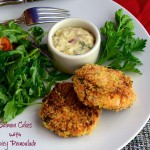 Salmon Cakes with Spicy Remoulade
