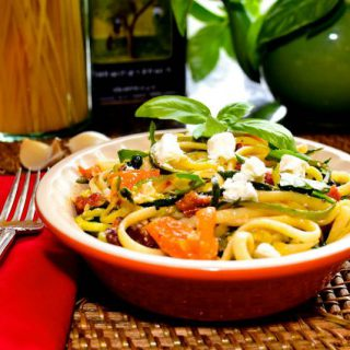 Zoodles with Linguine