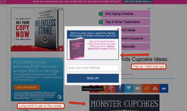 blogger ads