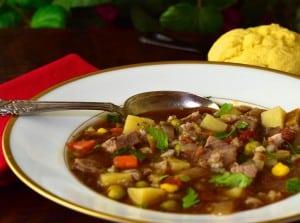 Beef Barley Vegetable Soup