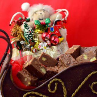 Nana B's Fudge Christmas fudge
