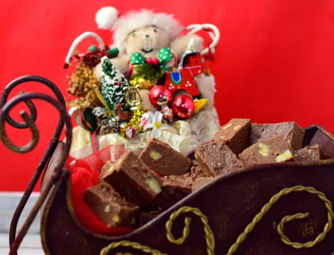 Nana B's Fudge Christmas fudge