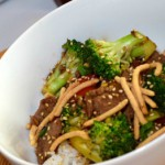 Quick Low-Fat Beef Broccoli Stir-Fry side shot