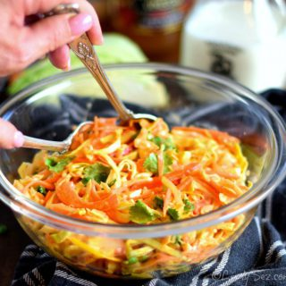 coleslaw with sriracha dressing