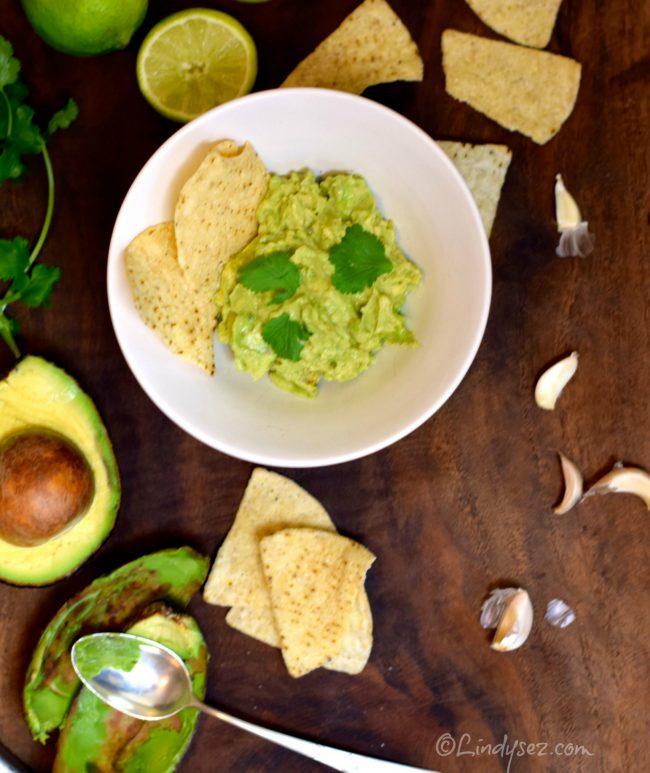 super simple guacamole