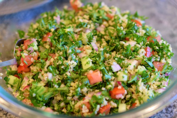 Tabouleh Salad | LindySez | Recipes