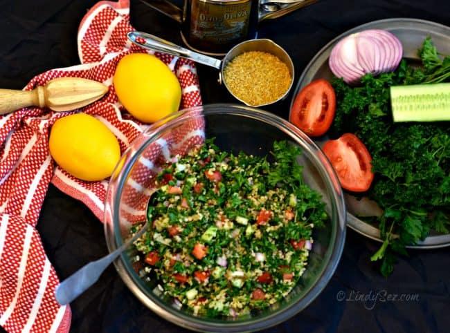 tabouleh salad ingredients