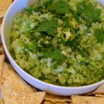 fresh green tomato salsa
