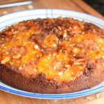 pineapple macadamia-nut upside-down cake