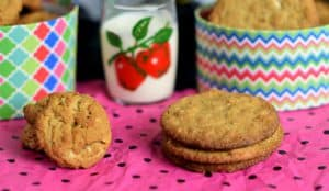 Almond Butter Cookie your way festive