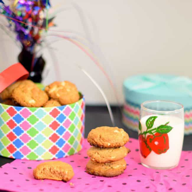 almond butter cookies your way