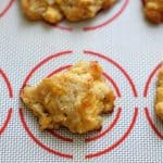 Cheddar Black Pepper Drop Biscuit