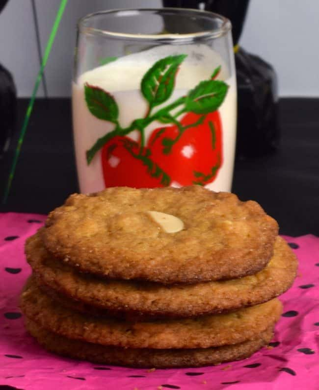 almond butter cookies your way with milk